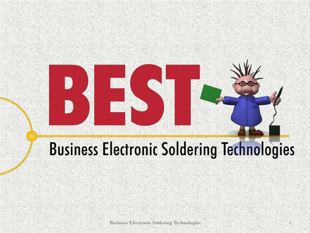 Ppt Bga Rework Hand Soldering Ipc Certification Ppt