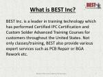 what is best inc
