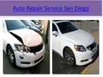 auto repair service san diego