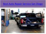 best auto repair service san diego