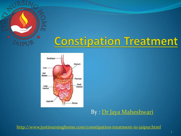 constipation treatment n.
