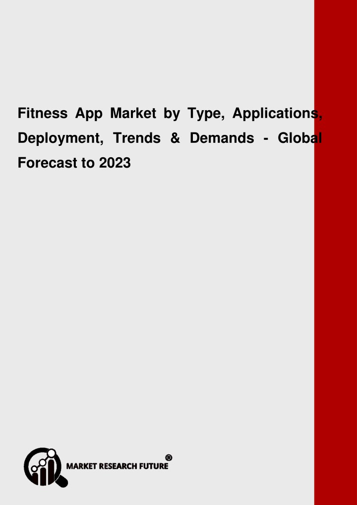 fitness app market research report global n.