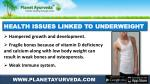 health issues linked to underweight