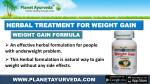 herbal treatment for weight gain
