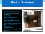 about us plumbproud