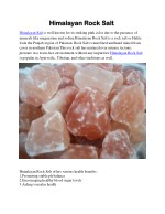 himalayan rock salt himalayan rock salt