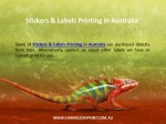 stickers labels printing in australia 1