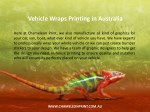 vehicle wraps printing in australia 1