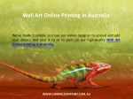 wall art online printing in australia 1