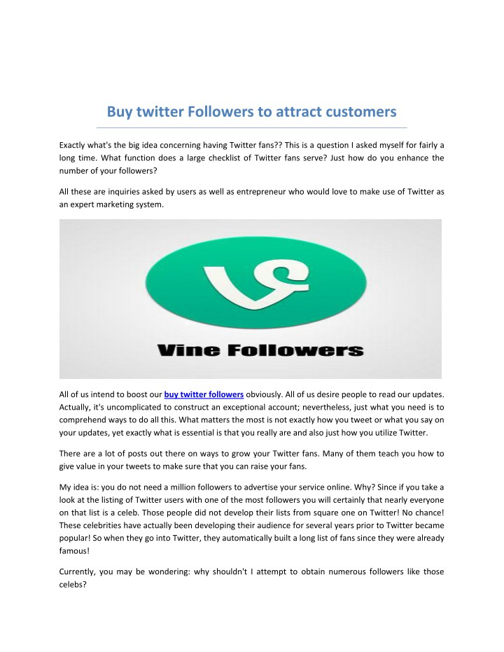buy twitter followers to attract customers n.
