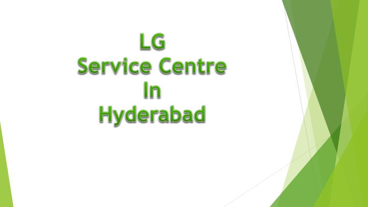 lg service centre in hyderabad n.