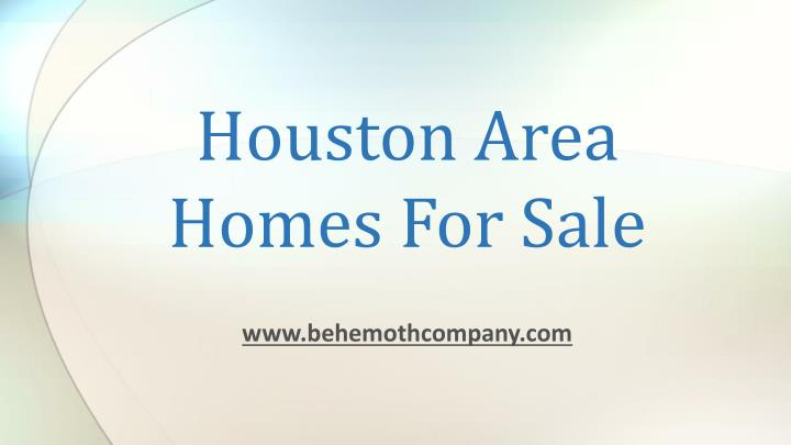 houston area homes for sale n.