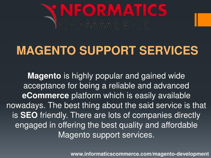 magento support services n.