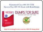 guaranteed cisco 400 101 ccie success pass 400 101 exam with braindumps