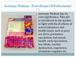 germany niubian powerhouse of performance