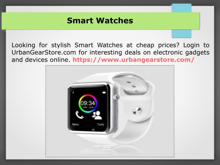 smart watches n.