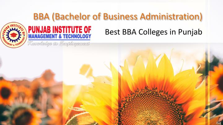 bba bachelor of business administration n.