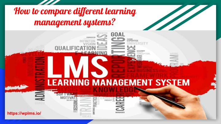how to compare different learning management n.