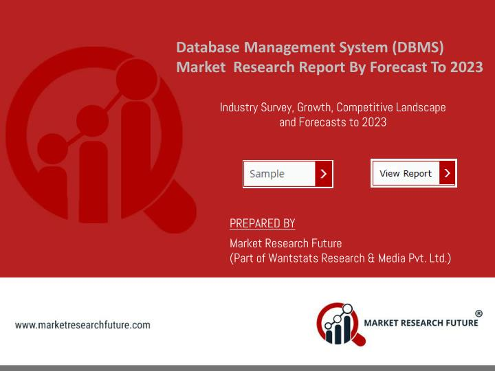 database management system dbms market research n.