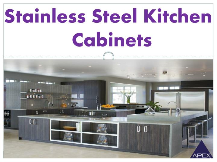 stainless steel kitchen cabinets n.