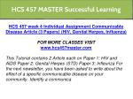 hcs 457 master successful learning 13