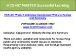 hcs 457 master successful learning 7