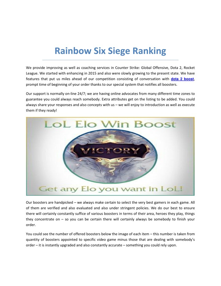 rainbow six siege ranking n.
