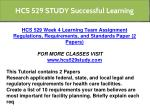 hcs 529 study successful learning 4