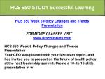 hcs 550 study successful learning 8