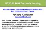 hcs 586 rank successful learning 10