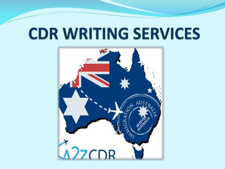 cdr writing services n.