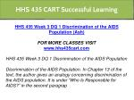 hhs 435 cart successful learning 6