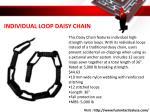 individual loop daisy chain