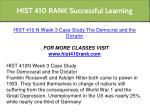 hist 410 rank successful learning 6