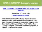 hrm 310 master successful learning 9