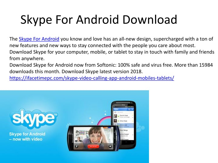 skype for android download n.