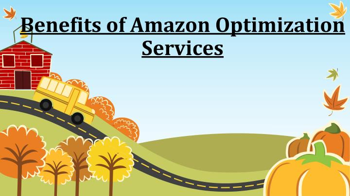 amazon optimization service