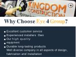 why choose eye 4 group