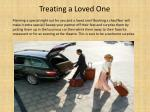 treating a loved one