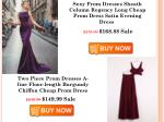 sexy prom dresses sheath column regency long