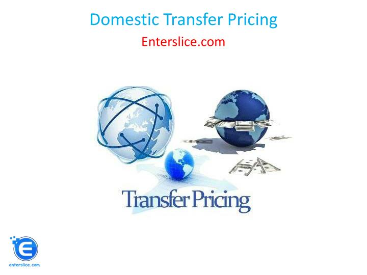 domestic transfer pricing n.