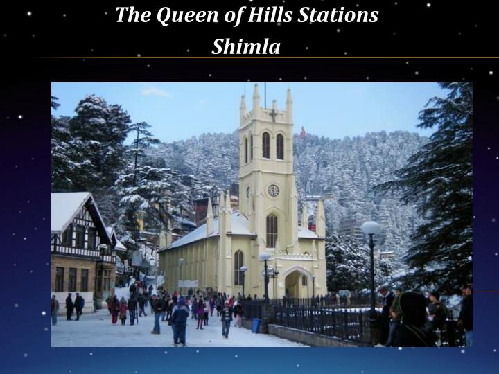 the queen of hills stations shimla n.