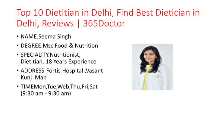 top 10 dietitian in delhi find best dietician in delhi reviews 365doctor n.