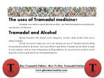 the uses of tramadol medicine