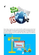 online selling is not that easy after