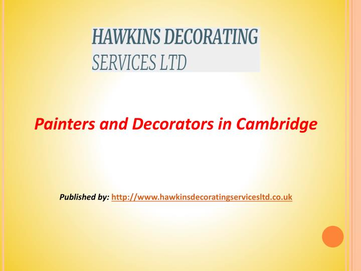 painters and decorators in cambridge published n.