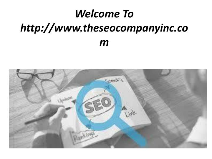 welcome to http www theseocompanyinc com n.