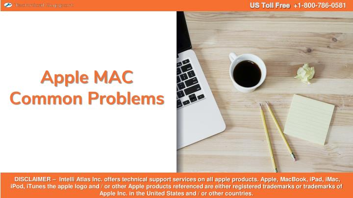 apple mac common problems n.
