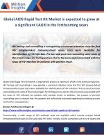 global aids rapid test kit market is expected