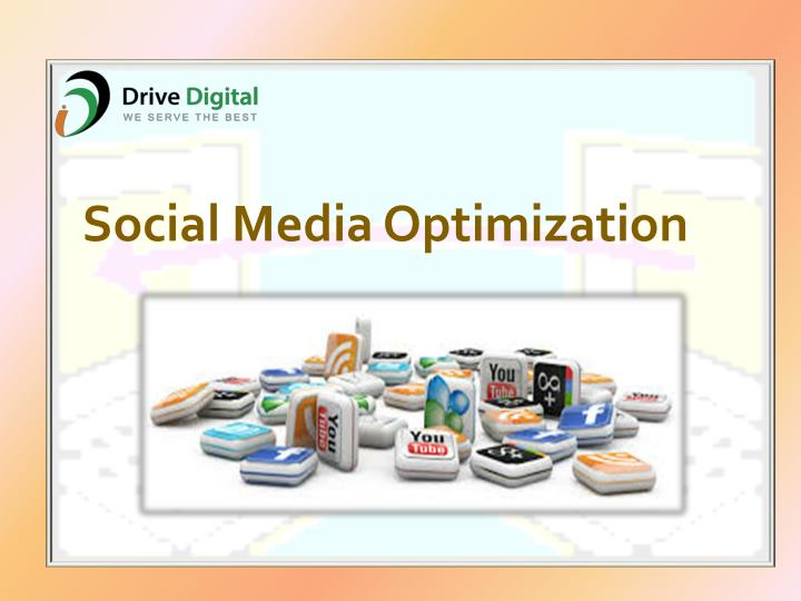 social media optimization n.